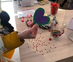 Walentynki w bemowskich placówkach