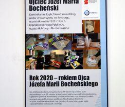 Wystawa poświęcona o. Józefowi Marii Bocheńskiemu