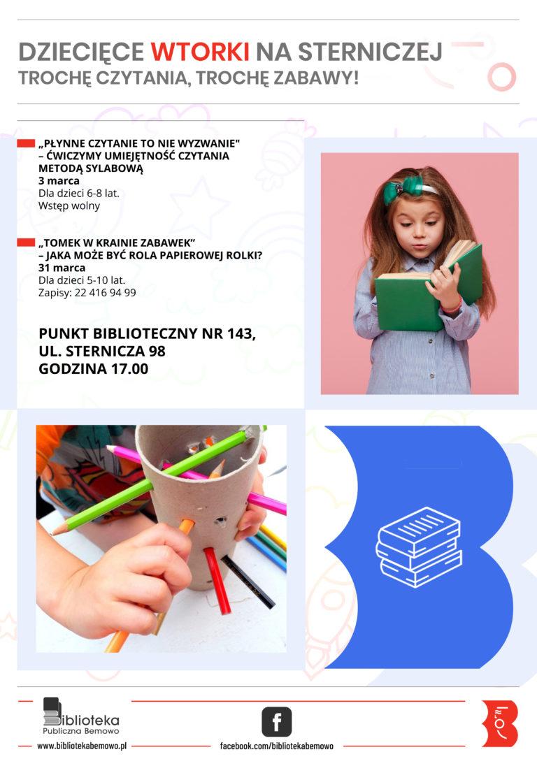 Dziecięce Wtorki na Sterniczej.