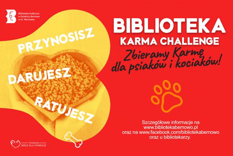 Biblioteka karma challenge