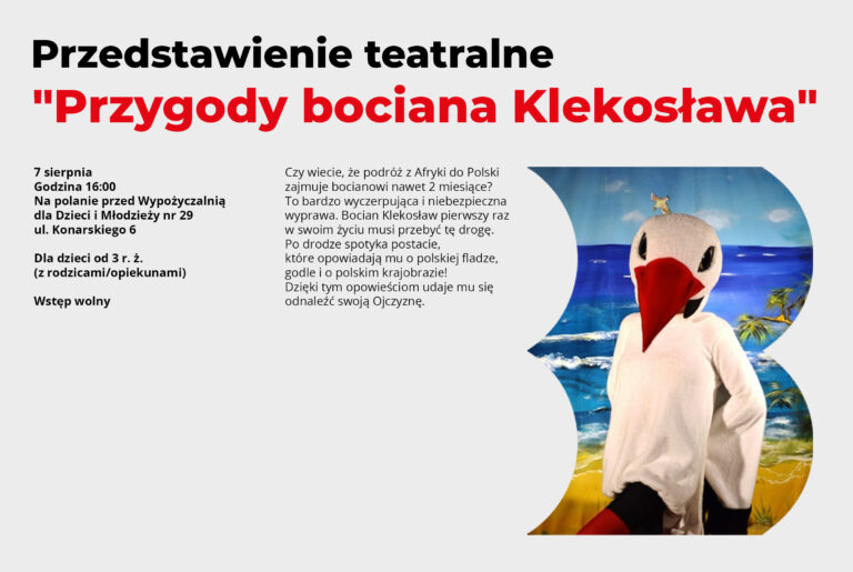 """""""Przygody bociana Klekosława"""""""